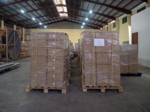 自社の拠点間や工場内などの短距離の輸送に最適な荷崩れ防止ベルト「ケースロック」